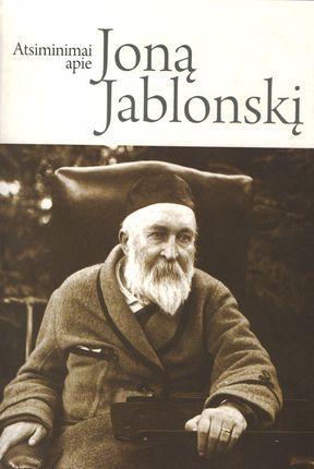 Atsiminimai apie Joną Jablonskį