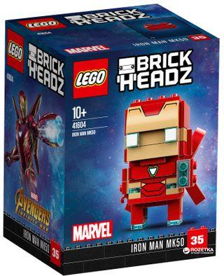 41604 LEGO® BrickHeadz Iron Man MK50