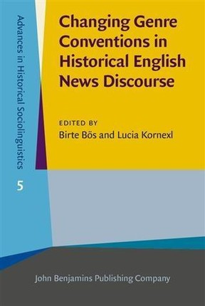 Changing Genre Conventions in Historical English News Discourse