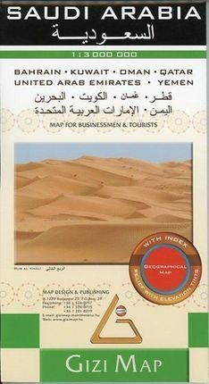 Saudi Arabia Geographica 1 : 3 000 000