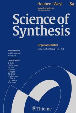 Science of Synthesis: Houben-Weyl Methods of Molecular Transformations  Vol. 8a