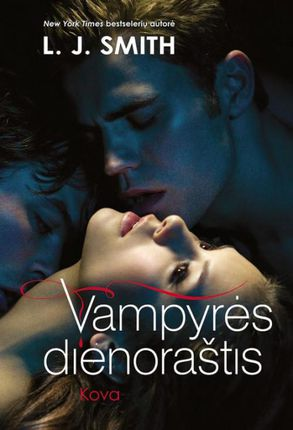 Vampyrės dienoraštis. Kova (2-oji knyga)