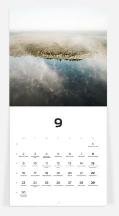 Sieninis kalendorius Nordic Natur 2020 Priidu Saart