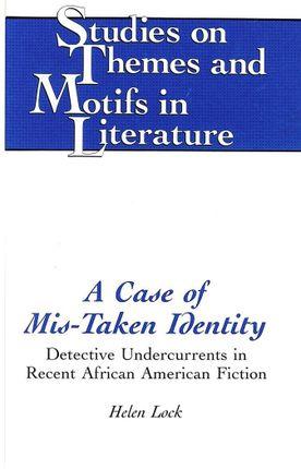 A Case of Mis-Taken Identity