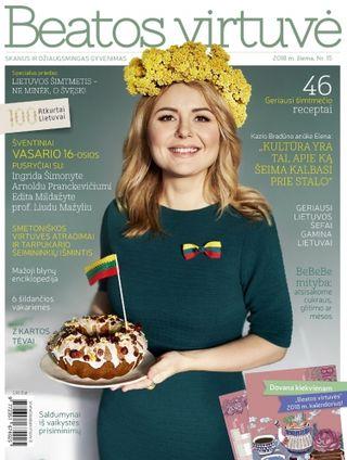 Beatos virtuvė. Žurnalas. Žiema. Nr.15 (2018) + 2018 m. kalendorius dovanų!