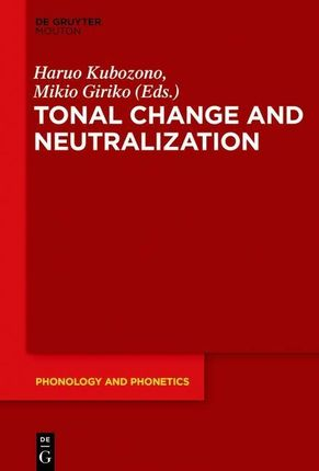 Tonal Change and Neutralization