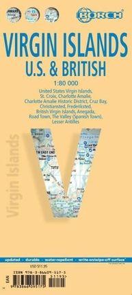 Virgin Islands 1 : 80 000. Road Map