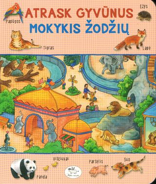 Atrask gyvūnus mokykis žodžius
