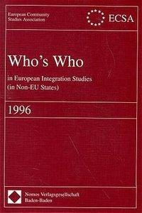 Who's Who in European Integration Studies (in Non-EU States)