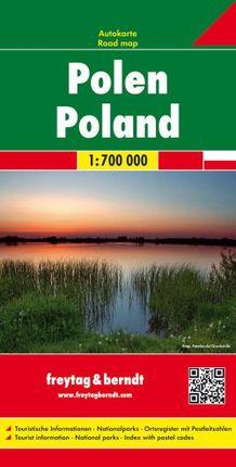 Polen 1 : 700 000. Autokarte