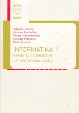 Informatika 1. Tekstų doroklis. Laboratoriniai darbai