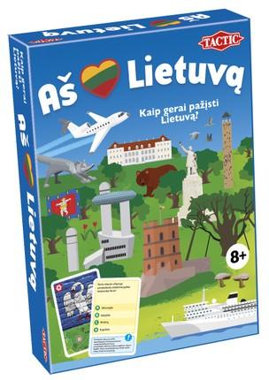 """Stalo žaidimas """"Aš myliu Lietuvą"""""""