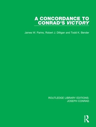 A Concordance to Conrad's Victory