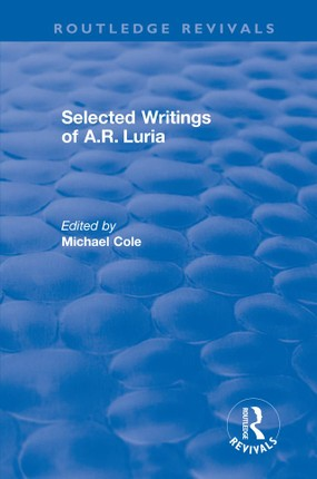 Selected Writings of A.R. Luria