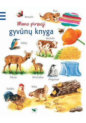 Mano pirmoji gyvūnų knyga