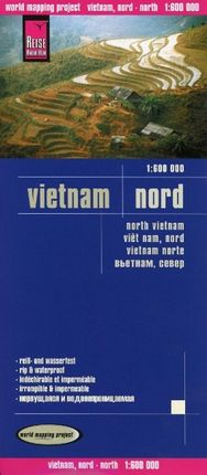 Reise Know-How Landkarte Vietnam Nord 1 : 600.000