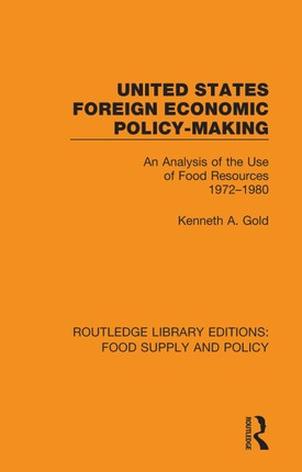 United States Foreign Economic Policy-making