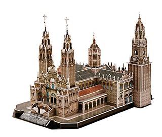 3D dėlionė: CATEDRAL DE SANTIAGO