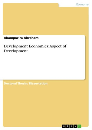 Development Economics: Aspect of Development