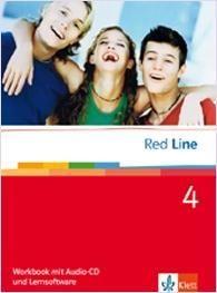 Red Line 4. Workbook mit Audio-CD und Lernsoftware