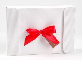Dėžutė knygoms (balta, 16,5 x 24 x 4 cm)
