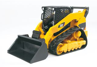 BRUDER traktorius vikšrinis geltonas su kastuvu, 02136