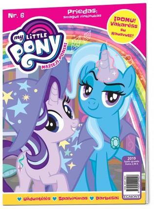Mažieji poniai. My little pony. Žurnalas. Nr 6