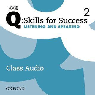 Q: Skills for Success: Level 2. Listening & Speaking Class Audio CD