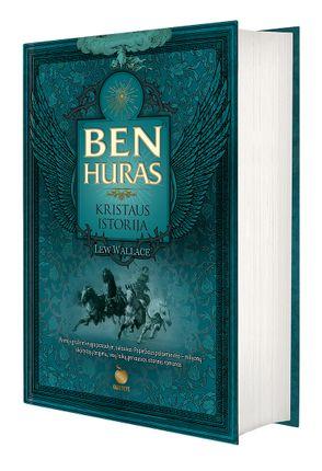 BEN HURAS. KRISTAUS ISTORIJA: pirmoji grožinė knyga pasaulyje, sulaukusi Popiežiaus palaiminimo – milijonų skaitytojų teigimu, visų laikų geriausias istorinis romanas