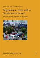 Migration in, from, and to Southeastern Europe