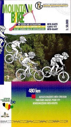 Mountainbike Ostkantone Süd  1 : 50 000 mit MTB / Radrouten