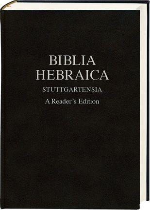 Biblia Hebraica Stuttgartensia (schwarz, Lederoptik)