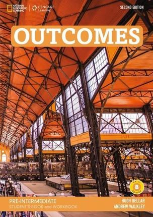 Outcomes A2.2/B1.1: Pre-Intermediate - Student's Book and Workbook (Combo Split Edition B) + Audio-CD + DVD-ROM