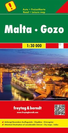 Malta - Gozo, Autokarte 1:30.000