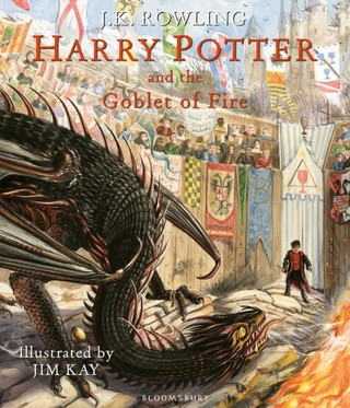 Harry Potter and the Goblet of Fire. Illustrated Edition