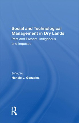 Social and Technological Management in Dry Lands