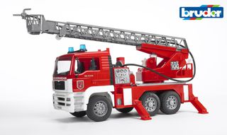 BRUDER gaisrinė su kopėčiom vandens pompa, 02771