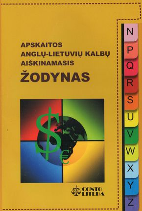 Apskaitos anglų-lietuvių kalbų aiškinamasis žodynas