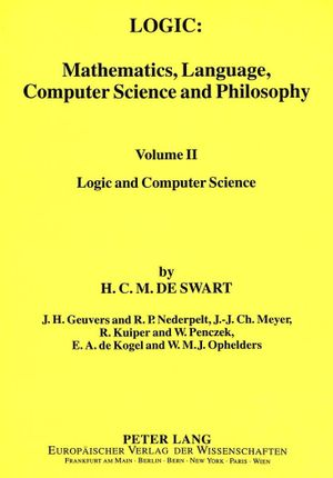 Logic: Mathematics, Language, Computer Science and Philosophy