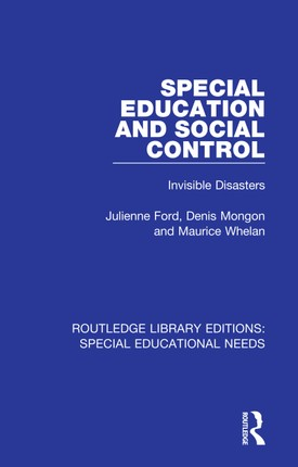 Special Education and Social Control
