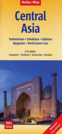 Nelles Map Central Asia 1 : 1 750 000