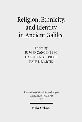 Religion, Ethnicity and Identity in Ancient Galilee