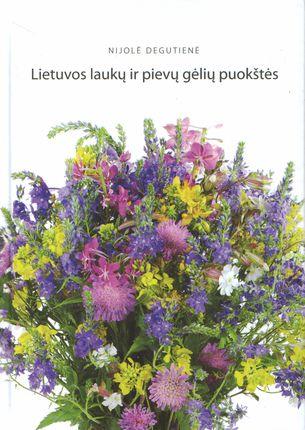 Lietuvos laukų ir pievų gėlių puokštės