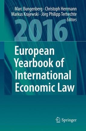 European Yearbook of International Economic Law 2016