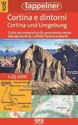 Wanderkarte Cortina und Umgebung 1 : 35.000