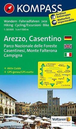 Arezzo - Casentino - Parco Nazionale delle Foreste Casentinesi - Monte Falterona - Campigna 1 : 50 000