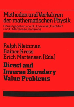 Direct and Inverse Boundary Value Problems