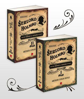 Geriausios Šerloko Holmso ir daktaro Džono V. Vatsono istorijos (I, II tomai)