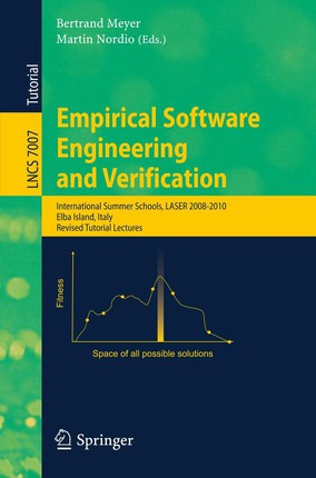 Empirical Software Engineering and Verification
