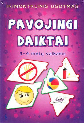 Pavojingi daiktai. 3 - 4 metų vaikams (žaidimas)